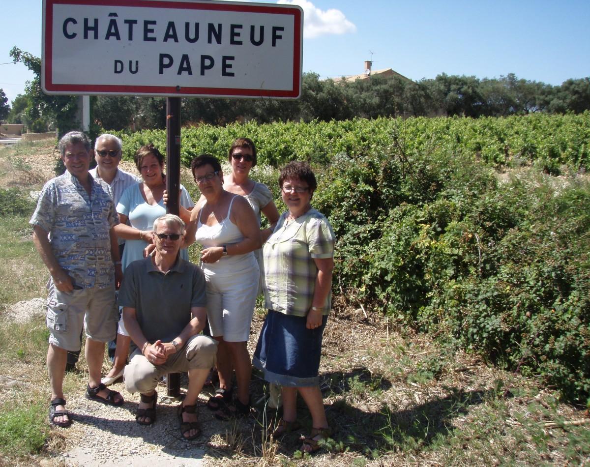 Opplevelsestur med vinbesøk i Chateauneuf de Pape
